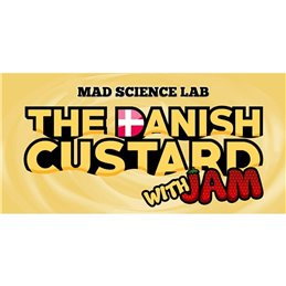 Mad Science Lab Essence (The Danish Custard with JAM) 10ML Aroma