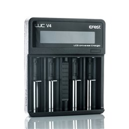 Efest LUC V4 LCD and USB 4 Slots