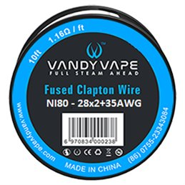 Vandy Vape Fused Clapton Wire Ni80 (28AWGx2 + 35AWG)