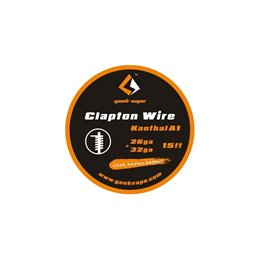 GeekVape Clapton Wire Kanthal A1 (26AWG + 32AWG)