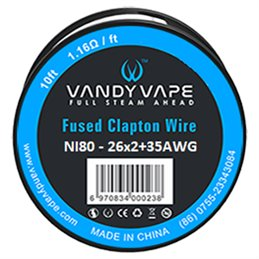 Vandy Vape Fused Clapton Wire Ni80 (26AWGx2 + 35AWG)