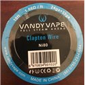 Vandy Vapes Fused Clapton Wire Ni80
