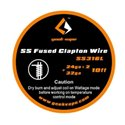 GeekVape Fused Clapton SS316l Wire (2x24AWG + 32AWG)