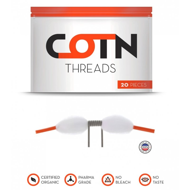 COTN Threads -  Bomuld