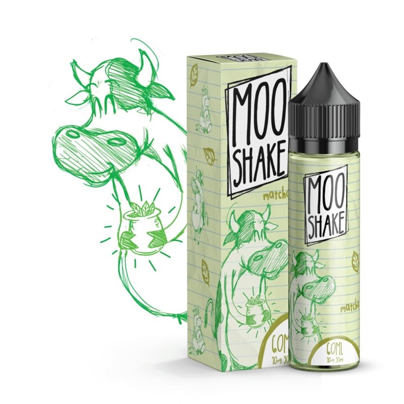 Moo Shake - Green Tea - (50 ml + 10 ml)