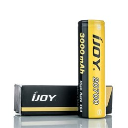 IJOY 20700 High Drain 3000mAh  Rechargeable Battery - 40A