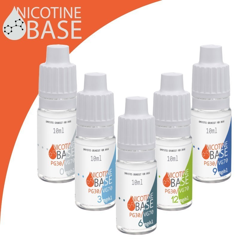 3mg. Nikotin base - 4x10ml