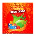 Big Mouth - Your Fantastic Drink- Sour Candy- 60 ML