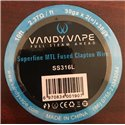Vandy Vape  Super MTL Fused Clapton Wire SS316L