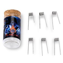 Demon Killer Stainless Steel Flame Coils (A) 6 stk.