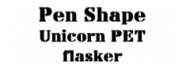 Pen Shape Unicorn PET flasker med Twist- off låg | DinDamp