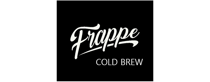Frappe COLD BREW Aroma